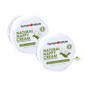 Human Nature Natural Nappy Cream Skin Protectant 50g Diaper Cream for Babies Set of 2 Price Philippines