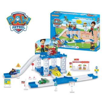 New Children Paw Patrol Car Parking Playground Figure Set Rubble Education Toys - intl Price Philippines