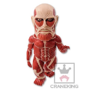 Harga Banpresto Attack on Titan Mega World Collectible Figure WCF Vol. 1 MG01 Muki-Muki