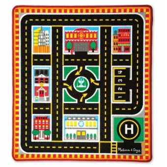 Harga Melissa and Doug Round The City Rescue Rug