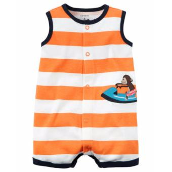 Carter Snap-Up Striped Romper 6M Price Philippines