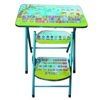 Harga Tickle Children Furniture Alphabet Duck Design Table and Chair Set