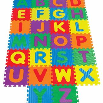 Harga SHOP AND THRIFT Alphabet Puzzle Mat for Kids 30x60cm