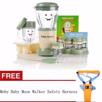 Baby Food Maker Blender 20 pieces with FREE Moby Baby Moon Walker Safety Harness Price Philippines