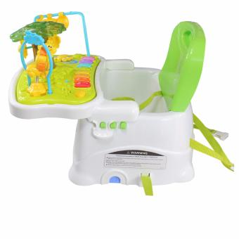 Harga Royalcare Healthy Care Forest Snap-on Lid Folds-up Feeding Booster Seat