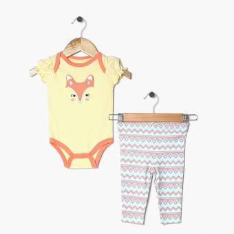 Harga Pure Girls Foxy Onesie and Leggings Set (Yellow)