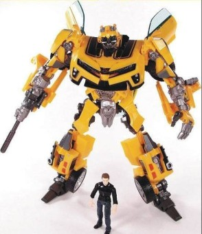 Harga Transformation Robot Human Alliance Bumblebee and Sam Action Figures Toys for classic toys anime figure cartoon boy toy - intl