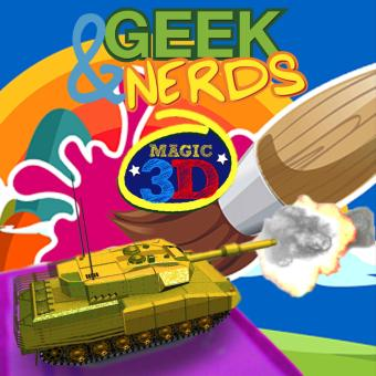 Geek & Nerds AR Augmented Reality Magic 3D Flash Cards Educational Learning Card Price Philippines