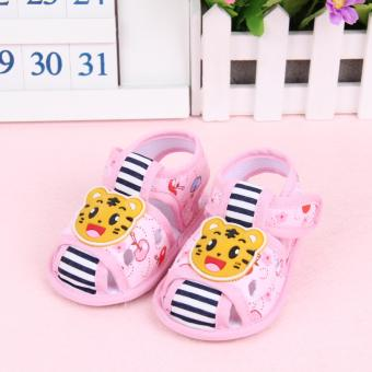 Harga Fisher-price Little tiger shoes pink
