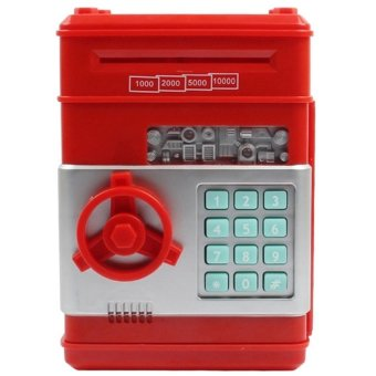 Harga Creative Mini Password ATM Piggy Bank (Red)