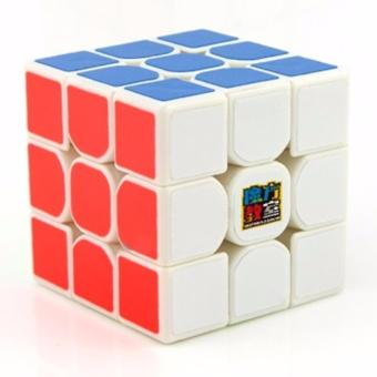 Harga MoFang JiaoShi MF3RS 3x3x3 Rubik's Cube Brain Teasers Speed Magic Cube Puzzles MF8810 White Body