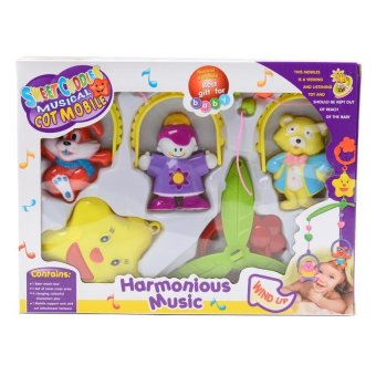 Harga Cutie Toys Crib Mobile (Multicolor)