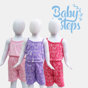 Harga Baby Steps Paradise Baby Clothes Girl Clothing Set of 3 (Multicolor)