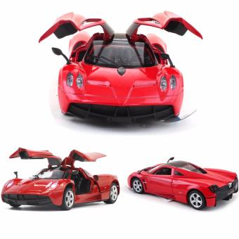 1:32 Scale Diecast Metal Car 2011 Pagani Huayra Toy Car with Light & Sound - intl Price Philippines