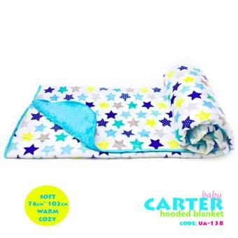 New 2017 Best Store Baby Shop Soft Comfortable Carter Hooded Blanket-UA138 Price Philippines