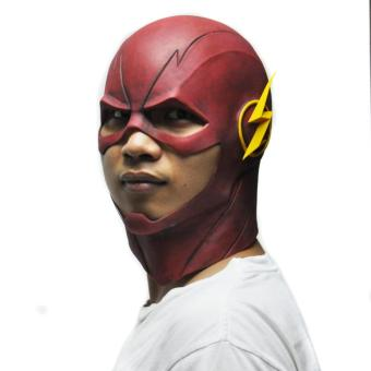 Red The Flash Mask DC Movie Cosplay Costume Prop Halloween Latex Party Masks - intl Price Philippines