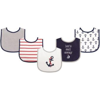 Harga Luvable Friends Drooler Bib, 5pk, Boy Nautical