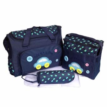 5-in-1 Multi-function Baby Diaper Tote Handbag Set (Navy Blue) Price Philippines