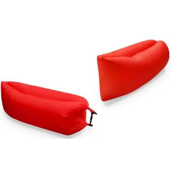 Toy Collections Inflatable Camping/ Banana boat/ Lazy Sleeping bed/ Cloud Lounger (Red) Price Philippines