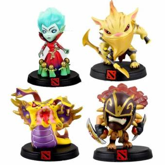 Harga Dota Venomancer Death Prophet Bloodseeker Bounty Hunter 4pcs./Set Action Figure