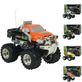 Harga 1:43 Radio Remote Control Rechargeable Off-Road RC Car Vehicle Model Toys - intl