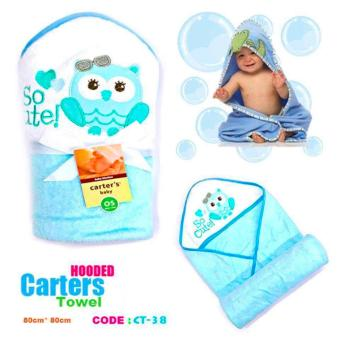 Best Store Baby Shop Carter Hooded Towel (Light Blue) Price Philippines