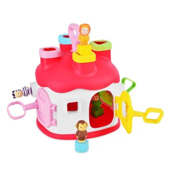 Smoby Cotoons Shape Sorter House (Pink) Price Philippines