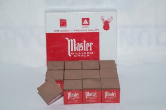 Harga Master Billiard / Pool Chalk (Brown)