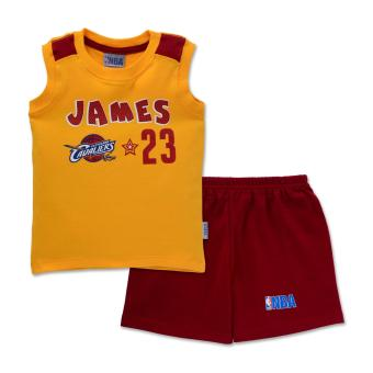 NBA Baby - Muscle Shirt and Shorts Set (James 23) Price Philippines