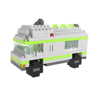 Harga Fang Fang Building Toys Block Boys Gift Camper (Colorful)