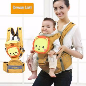 Mambobaby Multifunctional 4-in-1 Baby Carrier with Hip Seat cartoon baby backpack(lion)   Price Philippines