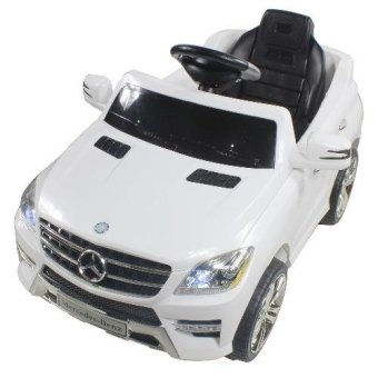 Mercedez Benz Kids Electric Ride On Toy Car 4 wheels ML350 QX-7996 (White)( Price Philippines