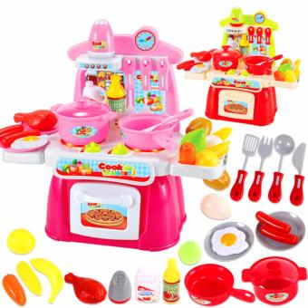 Harga Rising Star Kitchen Cooking Toys New Design With Sounds And Light (Multicolor)