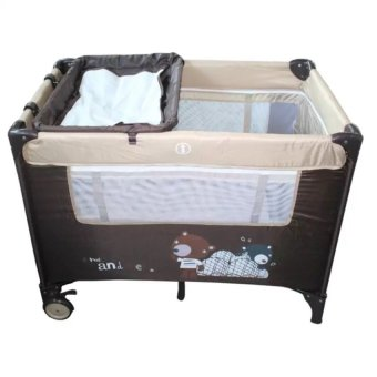 Toy Collections IRDY P529BJ Space Saver Playpen (Beige/Brown) Price Philippines