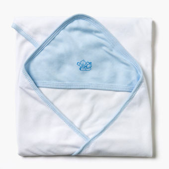 Minnies' and Mimi Boys 30x28 Hooded Blanket (Blue) Price Philippines
