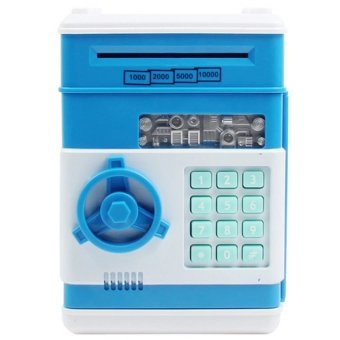 Harga Creative Mini Password ATM Piggy Bank (Blue)
