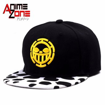 ANIME ZONE Trafalgar D. Water Law One Piece Anime Unisex Fashionable Snapback Cosplay Cap Price Philippines