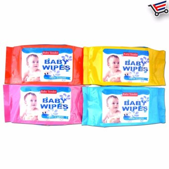 Baby Skincare Wipes Baby Wipes Fresh Scented Set Of 4, Price Philippines