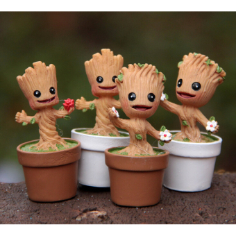 Harga Guardians Of The Galaxy Mini Cute Groot Model Toys Action Figurescartoon Toys Gift For Boys And Girls - intl