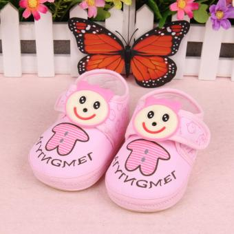 Harga Fisher-price Garden baby shoes pink