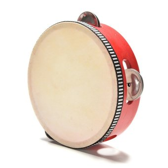Sporter Kids Musical Wooden Drum Rattles Education Toy Red - intl Price Philippines
