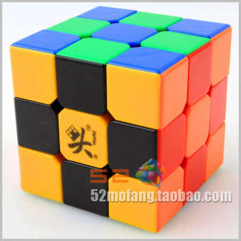 3x3x3 Magic Cube [two generation black] Guhong company assembled an enhanced version of Guhong + three magic cube young geese - intl Price Philippines