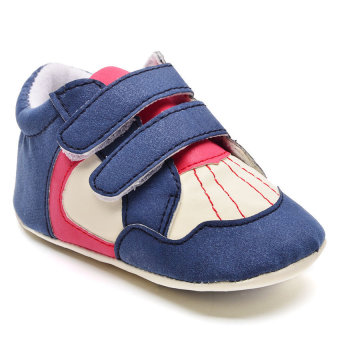 Wonder Years SHO-RB-1104-B Infant Boy Shoes (Blue) Price Philippines