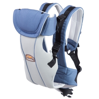 Multipurpose Breathable Adjustable Buckle Cotton Infant Babies Carrier - intl Price Philippines