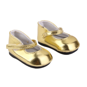 Harga RIS Golden Shoes for American Girl Dolls