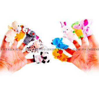 Asenso Baby and Kid's Animal Kingdom Finger Puppet Early Education 12 Piece Set Price Philippines
