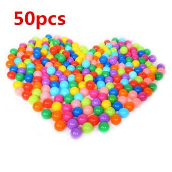 YBC 50Pcs Colorful Ball Ocean Balls Soft Plastic Ocean Ball Baby Kid Swim Pit Toy Price Philippines