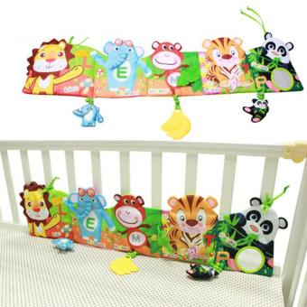 Baby Early Education Bed Around Animal Cloth Books Development Toys(Duck) - intl Price Philippines