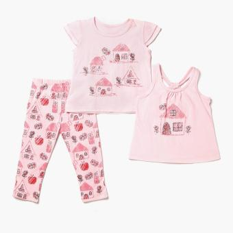Nap Girls House Pajama Set (Pink) Price Philippines