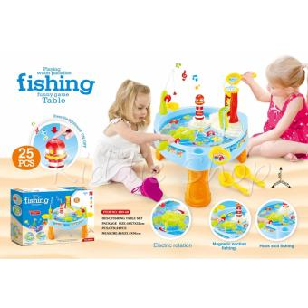 889-68 Playing Water in Paradise Fishing Game Kids Toy 25 PCS Price Philippines